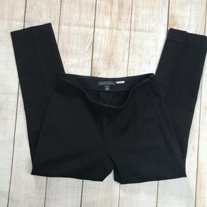 Banana Republic Devon Stretch Crop Pant 2 Black